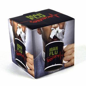 Man Flu Survivor Mug Thumbnail 2