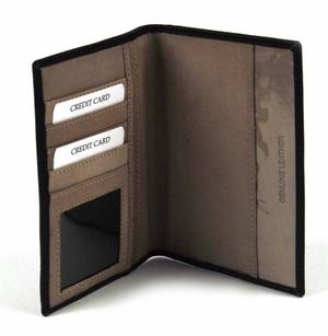 Deluxe Black Leather British Passport Holder Thumbnail 2