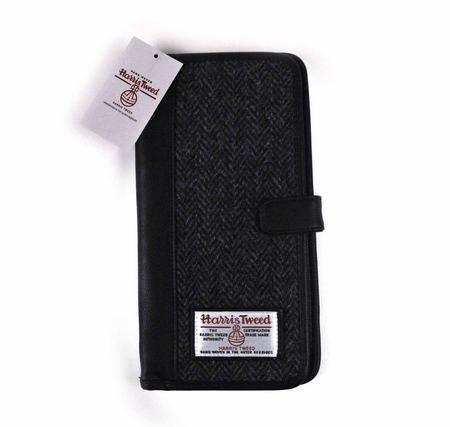 Harris Tweed Travel Documents Wallet / Organiser
