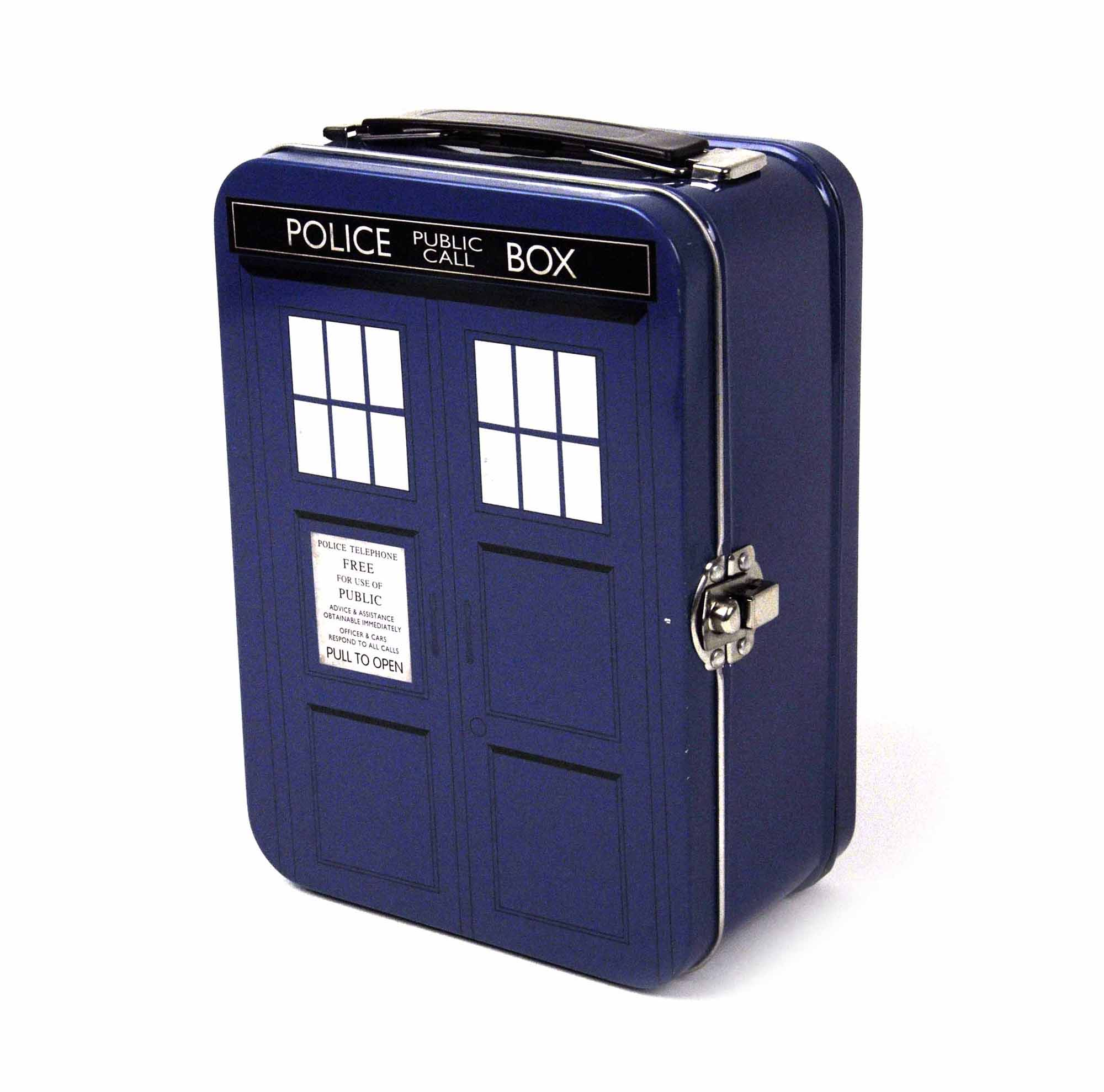 Nerdy Kitchen Accessories: Doctor Who Tardis Lunchbox (50Th Anniversary)