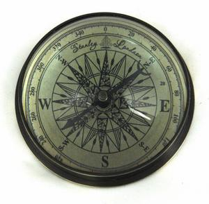 Marine Directional Compass Domed Paperweight Thumbnail 2