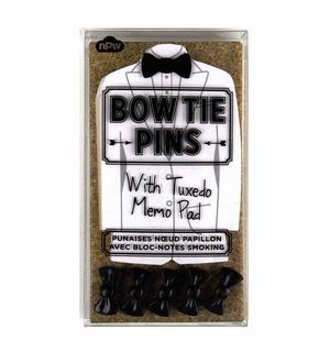 Tuxedo Memo Pad & Bow Tie Pins Thumbnail 2