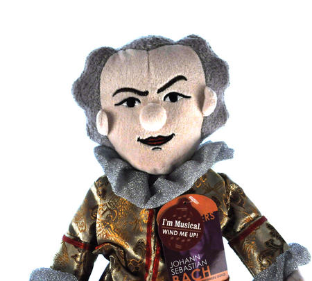 Johann Sebastian Bach Little Thinker Soft Toy - Plays Music