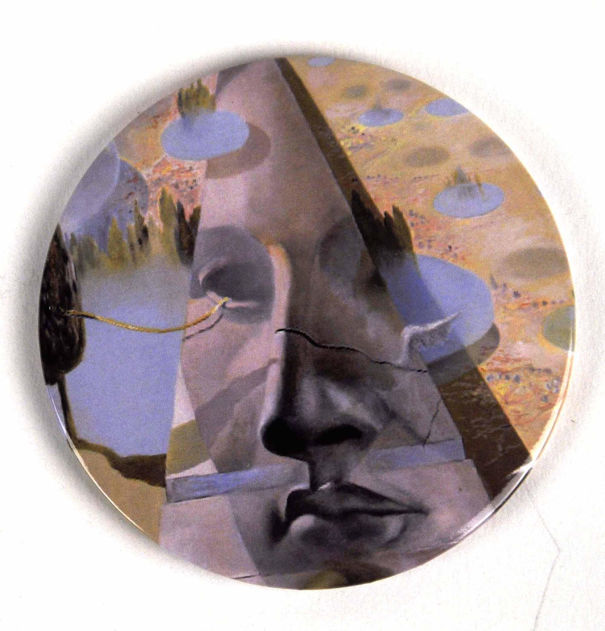 Salvador Dali Quot Aphrodite Of Cnidus Quot Compact Handbag Mirror