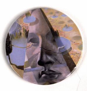 "Salvador Dali ""Aphrodite Of Cnidus"" Compact Handbag Mirror"