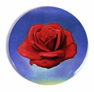 "Salvador Dali ""The Rose"" Compact Handbag Mirror"