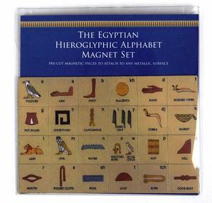Egyptian Heiroglyphics Alphabet Magnet Set - Fridge Magnets Thumbnail 2