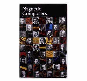 Magnetic Composers -  Fridge Magnets Thumbnail 2