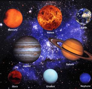 Magnetic  Planets -  Solar System Fridge Magnets Thumbnail 1