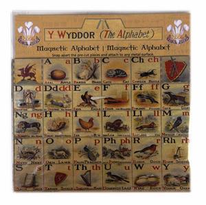 Welsh Alphabet Magnet Set - Fridge Magnets Thumbnail 2