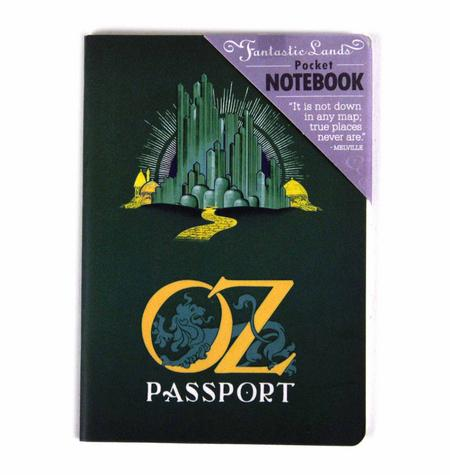 Oz Passport Deluxe Notebook