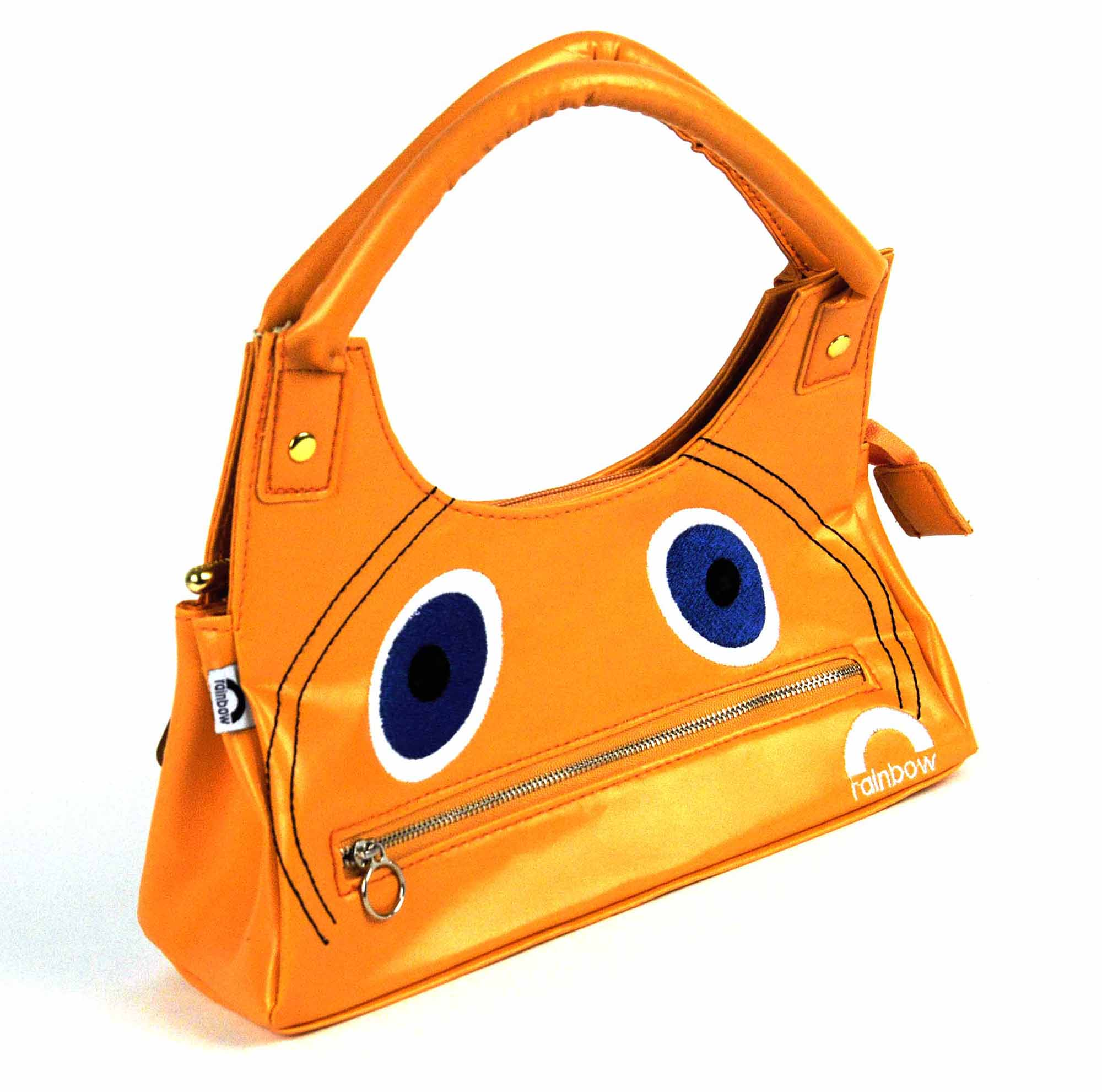 Rainbow Zippy Hand Bag
