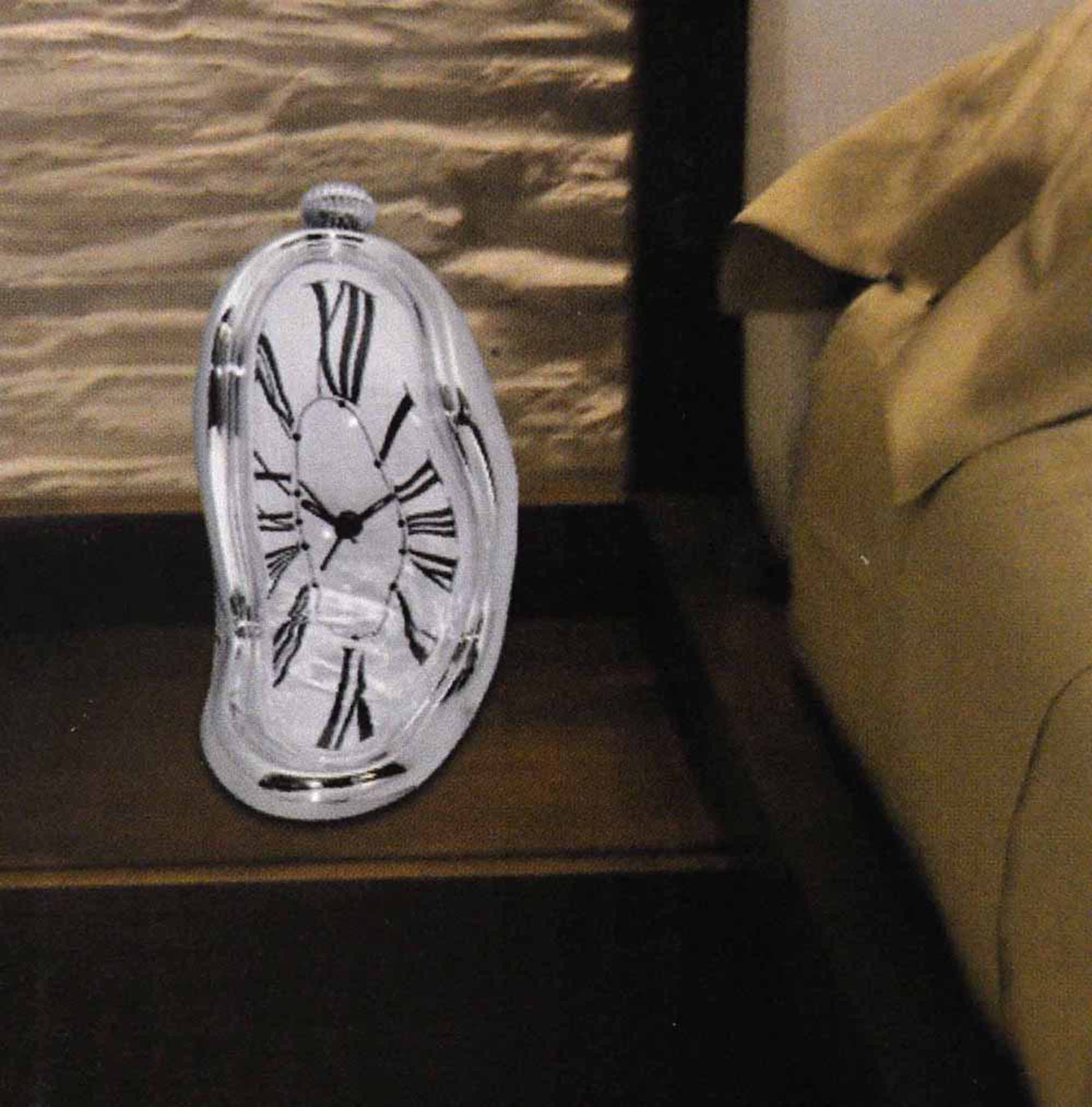 Psychedelic Fun With Garden >> Dali Melting Bedside Alarm Clock - Surrealist Psychedelic Décor | Pink Cat Shop