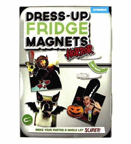 Dress Up Horror Fridge Magnet Set - Doctor Your Photos!