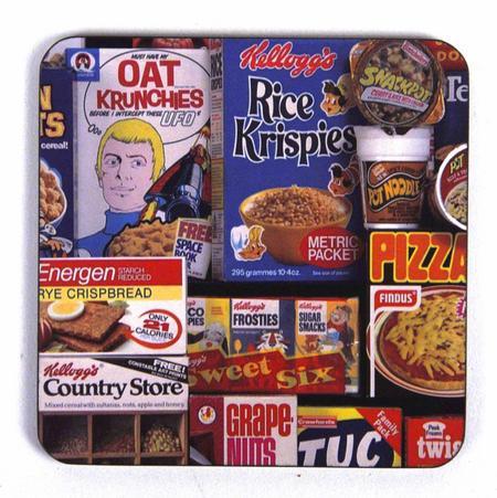 1970S British Shopping Coaster Set