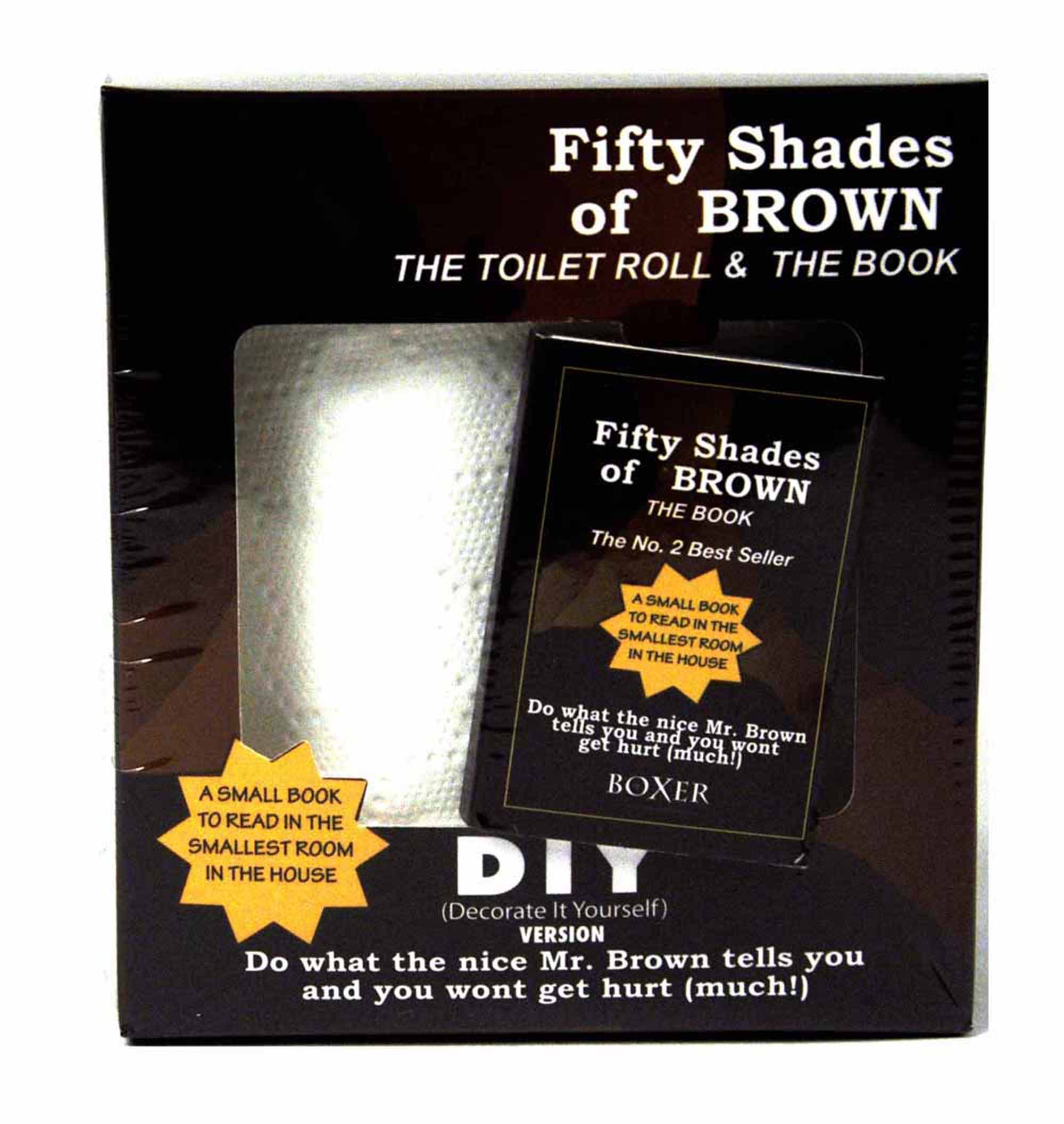 Fifty Shades Of Brown Toilet Roll And Book Thumbnail 1
