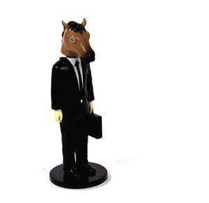 Horse Head Man Dashboard Wobbler Thumbnail 2