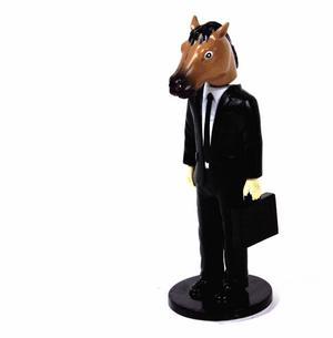 Horse Head Man Dashboard Wobbler Thumbnail 6