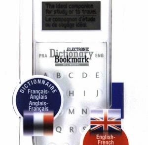 Dictionary Bookmark French / English - Français / Anglais - Electronic & Super-Slim Thumbnail 3