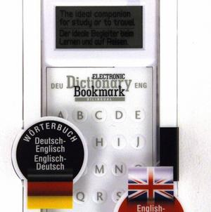 Dictionary Bookmark German / English - Deutsch / Englisch - Electronic & Super-Slim Thumbnail 3