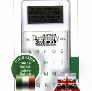 Dictionary Bookmark Italian / English - Italiano / Inglese - Electronic & Super-Slim Thumbnail 3