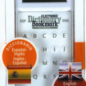 Dictionary Bookmark Spanish / English - Español / Inglés - Electronic & Super-Slim Thumbnail 2