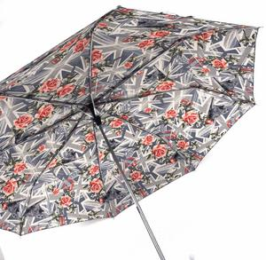 English Roses Stowaway Deluxe Umbrella
