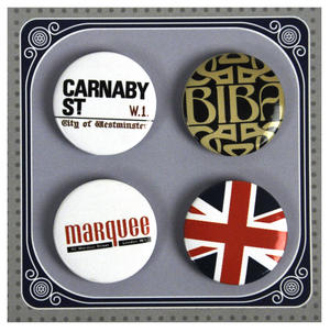 Swinging 60's London Button Badges Thumbnail 1