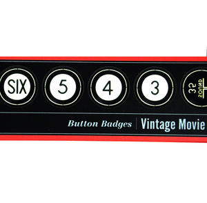 Vintage Movie Countdown - Deluxe Collectors Edition Button Badges Box Set Thumbnail 2