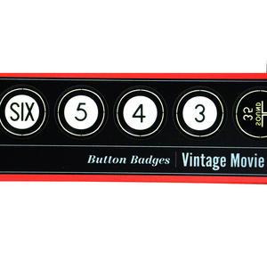 Vintage Movie Countdown - Deluxe Collectors Edition Button Badges Box Set Thumbnail 2