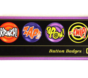 Classic 60's Tv Sound Effects - Deluxe Collectors Edition Button Badges Box Set Thumbnail 2