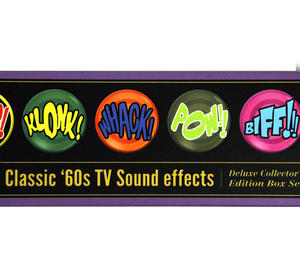 Classic 60's Tv Sound Effects - Deluxe Collectors Edition Button Badges Box Set Thumbnail 3