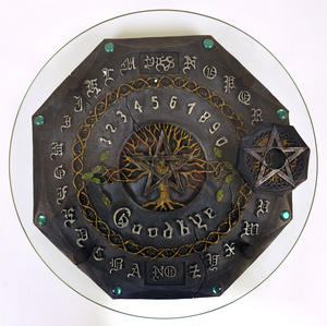 Ouija Board - Gothic Deluxe With Plate Glass Thumbnail 3