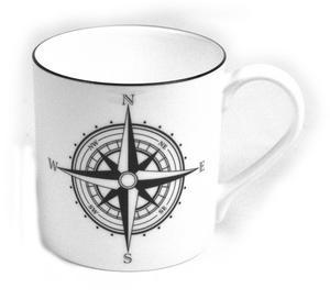 Compass Rose Mug Thumbnail 1