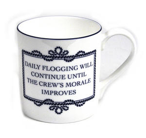 Daily Flogging Will Continue Until Morale Improves Mug Thumbnail 1