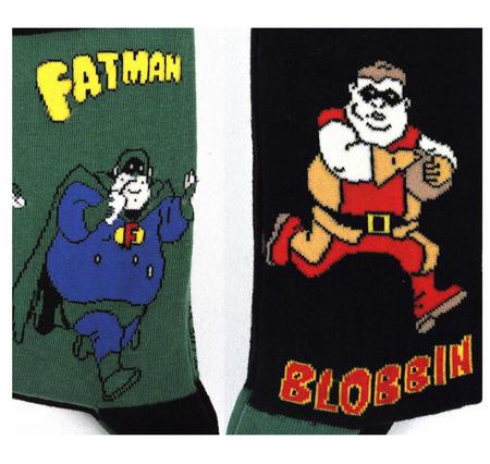 Fatman And Blobin Socks - 2 pairs