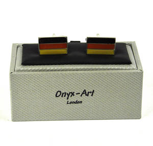 Cufflinks - German Flag / Deutsch Flagge Thumbnail 2