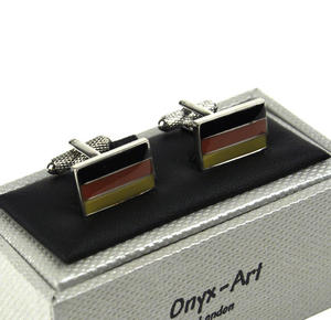 Cufflinks - German Flag / Deutsch Flagge Thumbnail 3
