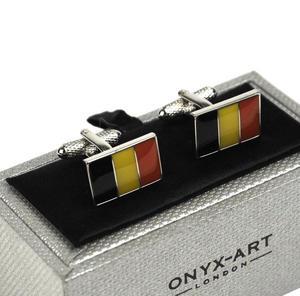 Cufflinks - Belgian Flag Thumbnail 3
