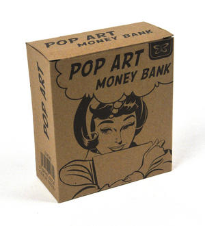 Pop Art Money Bank - Saving Up To Spoil Myself Thumbnail 3