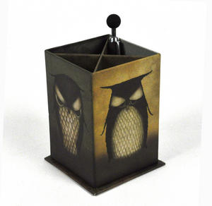 Santoro Pen Holder Owl Thumbnail 1