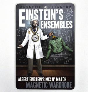 Einstein Ensemble   Dressing Up Fridge Magnets Thumbnail 1
