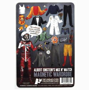 Einstein Ensemble   Dressing Up Fridge Magnets Thumbnail 3