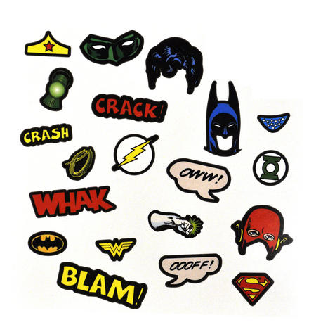 Justice League Of America Fancy Dress Magnets