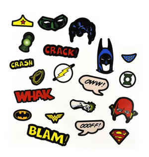 Justice League Of America Fancy Dress Magnets Thumbnail 1