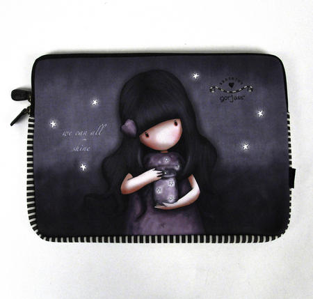 Gorjuss 13 Inch Laptop Sleeve We Can All Shine