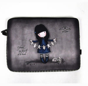 Gorjuss 15 Inch Laptop Sleeve I Found My Family In A Book Thumbnail 1