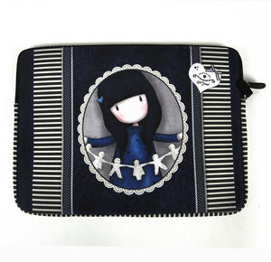Gorjuss 15 Inch Laptop Sleeve I Found My Family In A Book Thumbnail 4