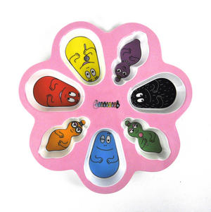 Barbapapa 7 Compartment Candies Plate Thumbnail 1