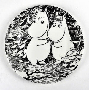 Moomin Dessert Plate Oh Darling Thumbnail 1